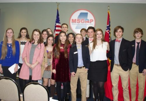 Teenage Republicans of MS State Convention
